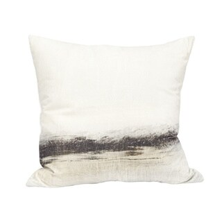 Aurelle Home Velvet Cushion with Feather Insert