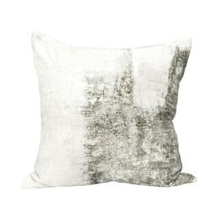 Aurelle Home Velvet Cushion with Feather Insert