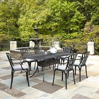 Largo Outdoor 7-piece Dining Set with Cushions by Home Styles