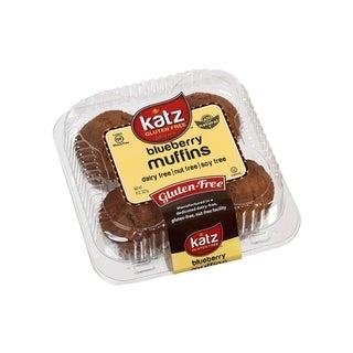 Katz Gluten-free Blueberry Muffins (2 Pack)