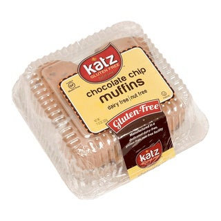Katz Gluten-free Chocolate Chip Muffins (2 Pack)