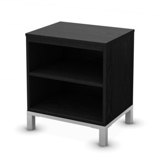 South Shore Black Oak Flexible Storage Table