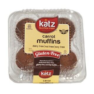Katz Gluten-free Carrot Muffins (2 Pack)