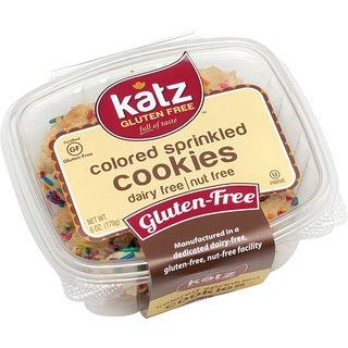 Katz Gluten-free Colored Sprinkle Cookies (2 Pack)