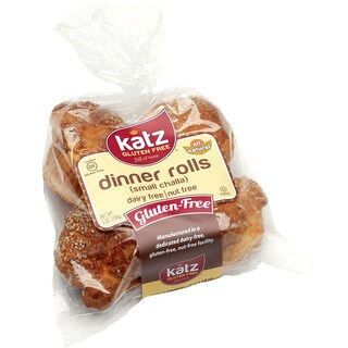 Katz Gluten-free Small Dinner Challah Rolls (2 Pack)