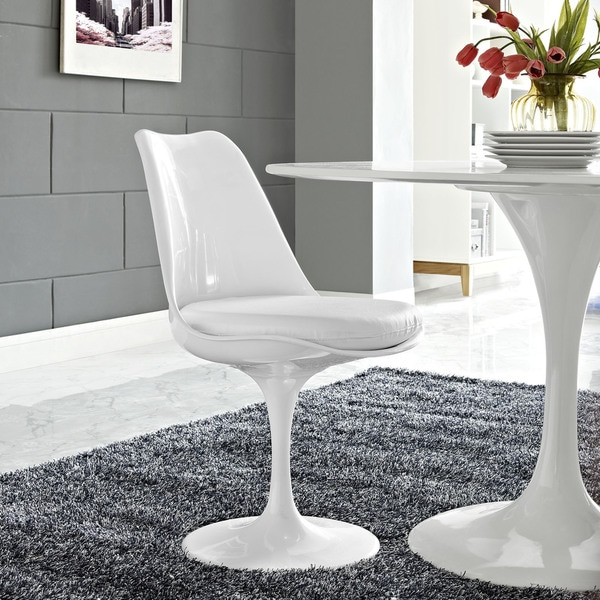 Lippa Vinyl Dining Chair Free Shipping Today Overstock