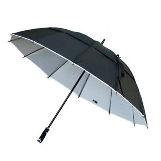 Black Aspen 62-inch Wind Resistant Umbrella