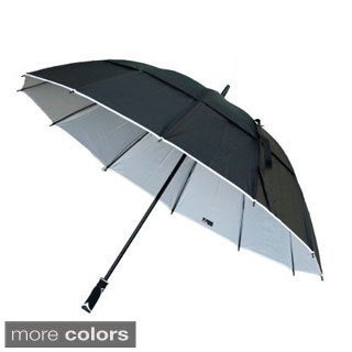 Black Aspen 62-inch Wind Resistant Umbrella