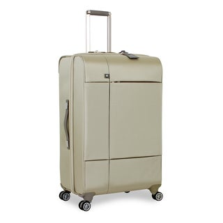 BMW 29-inch Champagne 'Split Case' Large Spinner Upright Suitcase