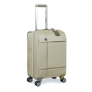 BMW 20-inch Champagne 'Split Case' Carry On Spinner Upright Suitcase