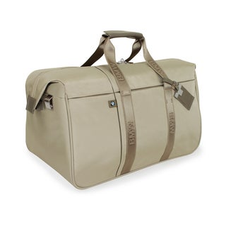 BMW 22-inch Champagne Carry On Weekender Duffel Bag