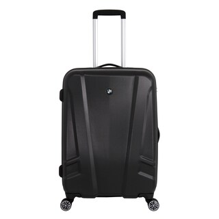 BMW 23-inch Medium Black Hardside Spinner Upright Suitcase