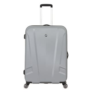 BMW 27-inch Silver Medium Hardside Spinner Upright Suitcase