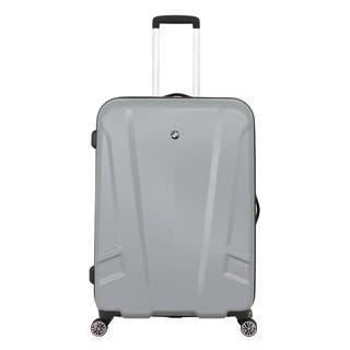 BMW 27-inch Silver Medium Hardside Spinner Upright Suitcase|https://ak1.ostkcdn.com/images/products/9809853/BMW-27-inch-Silver-Medium-Hardside-Spinner-Upright-Suitcase-P16976085.jpg?impolicy=medium