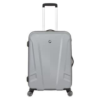 BMW 23-inch Medium Silver Hardside Spinner Upright Suitcase