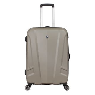 BMW Champagne 23-inch Medium Hardside Spinner Upright Suitcase