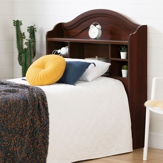 South Shore 'Summer Breeze' Royal Cherry Twin Bookcase Headboard