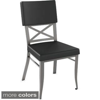 Amisco Windsor Metal Dining Chair (Set of 2)