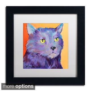 Pat Saunders-White 'Frenchy' Framed Matted Art