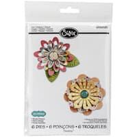 Sizzix Thinlits Dies 6/Pkg-Simple Flowers