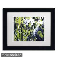 Beata Czyzowska Young 'Whispers of Summer' Framed Matted Art