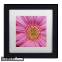 Kurt Shaffer 'Pink' Framed Matted Art