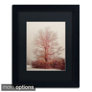 Lois Bryan 'A-Blush in the Fog' Framed Matted Art