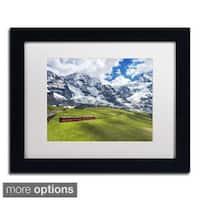 Philippe Sainte-Laudy 'Beautiful Switzerland' Framed Matted Art