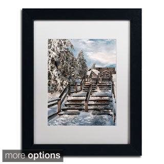 Lois Bryan 'Watch Your Step' Framed Matted Art