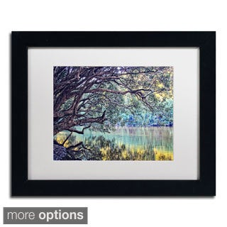 Beata Czyzowska Young 'A Place to Dream' Framed Matted Art