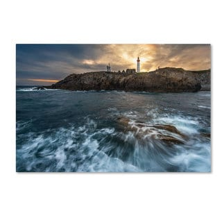 Mathieu Rivrin 'The Lighthouse' Canvas Art