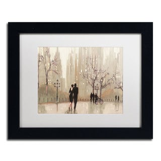 Julia Purinton 'An Evening Out Neutral' Framed Matted Art