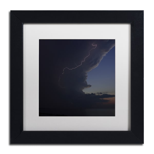 Kurt Shaffer 'Sunset Thunderhead #1' Framed Matted Art