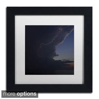 Kurt Shaffer 'Sunset Thunderhead #1' Framed Matted Art