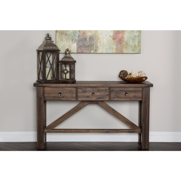 Wilson Antique White Coffee Table: Kosas Home Audrey Console Table