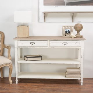 The Gray Barn Mead Grove Traditional French Accent Console Table