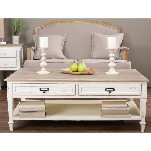 Dauphine Traditional French Accent Coffee Table Free