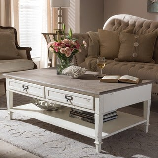 Dauphine Traditional French Accent Coffee Table