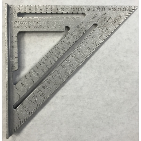 Swanson tools metric speed square 16977023 overstock com shopping