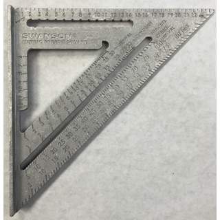Swanson Tools Metric Speed Square
