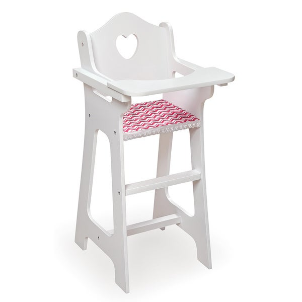Badger Basket Doll High Chair Dining Set