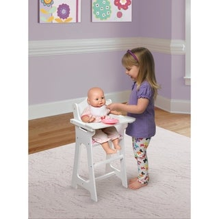 Badger Basket Doll High Chair Dining Set