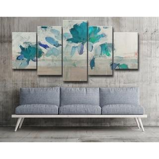 Ready2HangArt 'Painted Petals IV-B' Canvas Set
