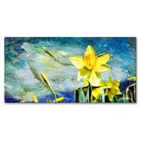 Ready2HangArt 'Painted Petals VII' Canvas Wall Art