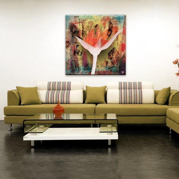 Ready2HangArt 'Painted Petals XXV' Canvas Wall Art