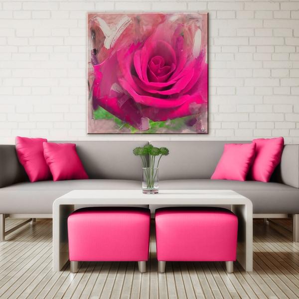 Ready2HangArt 'Painted Petals XL' Canvas Wall Art