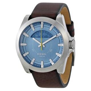 Diesel Men's DZ1661 'Arges' Brown Leather Watch