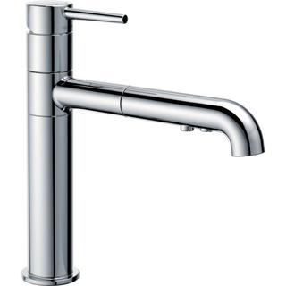 Delta Trinsic Single Handle Pull-Out Kitchen Faucet 4159-DST Chrome
