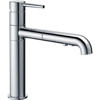 Delta Trinsic Single-handle Pull-out Chrome Kitchen Faucet