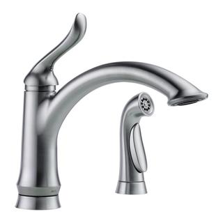 Delta Linden Single-handle with Spray Arctic Stainless Kitchen Faucet